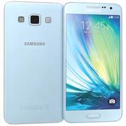 Samsung Galaxy A7 Blue 3d model