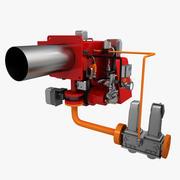 Gasbrander 1 3d model