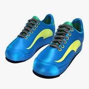 일반 숙녀 테니스 신발 3d model