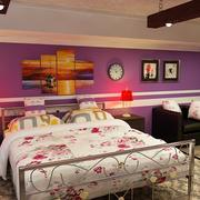 Стильная спальня 3d model