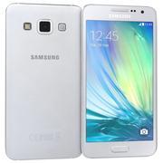 Samsung Galaxy A7 Silver 3d model
