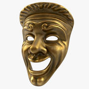 Theatre Comedy Mask 3d model