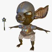 Rat Rat Warrior 3d model