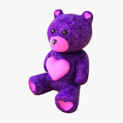 Heart Teddy 3d model