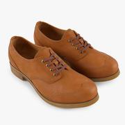 Zapatos Oxford modelo 3d