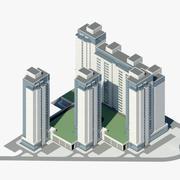Жилой комплекс Co1 3d model