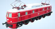Locomotive E19 3d model