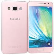 Samsung Galaxy A7 Pink 3d model