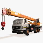 Crane MAZ 3d model