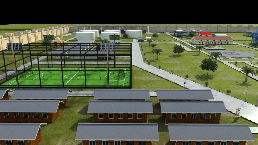 kraftverk royalty-free 3d model - Preview no. 16