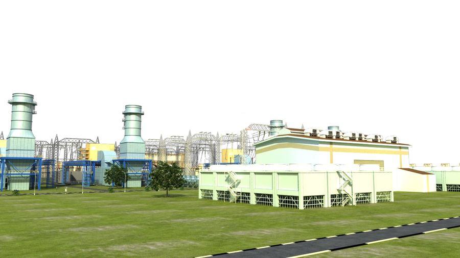kraftverk royalty-free 3d model - Preview no. 13