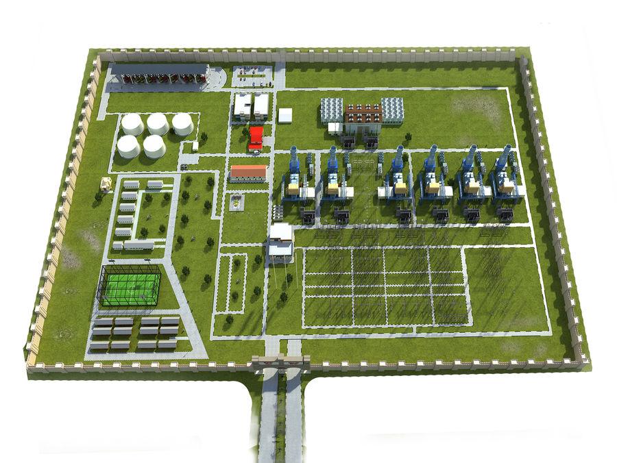 kraftverk royalty-free 3d model - Preview no. 14