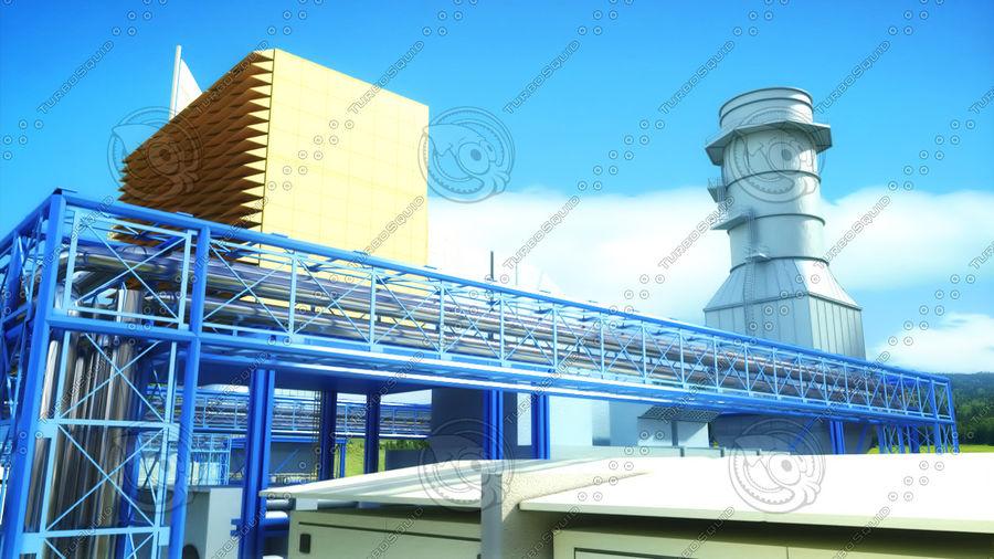 kraftverk royalty-free 3d model - Preview no. 4