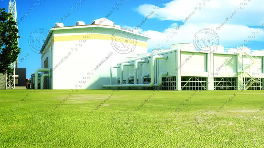kraftverk royalty-free 3d model - Preview no. 8