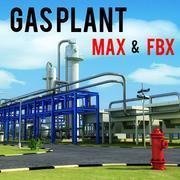Elektrownia gazowa 3d model