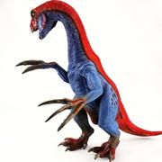 Therizinosaurus Toy- High Poly 3d model