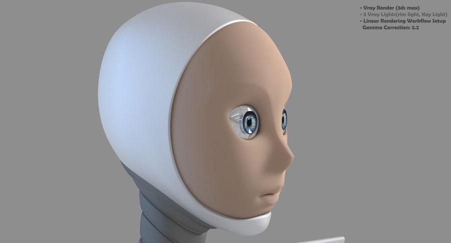 Female Robot Android 3d Model 49 Unknown Ma Max Fbx C4d Obj Free3d
