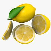 Lemon mix 3d model