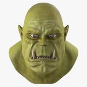 Orc Head 3D Model 3d model