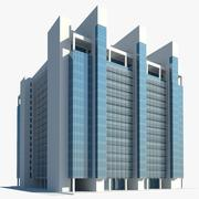 Centrum biznesowe Bc1 3d model