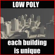 City Block Poly Vol2 3d model