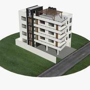 lägenheter 3d model