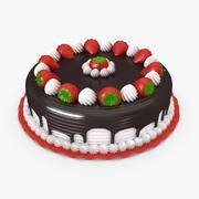 ストロベリーケーキ 3d model