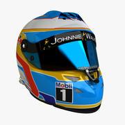 Casque Fernando Alonso F1 F1 Schuberth 3d model