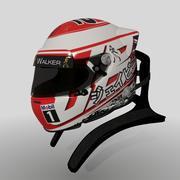 Jenson Button 2015 Helmet 3d model