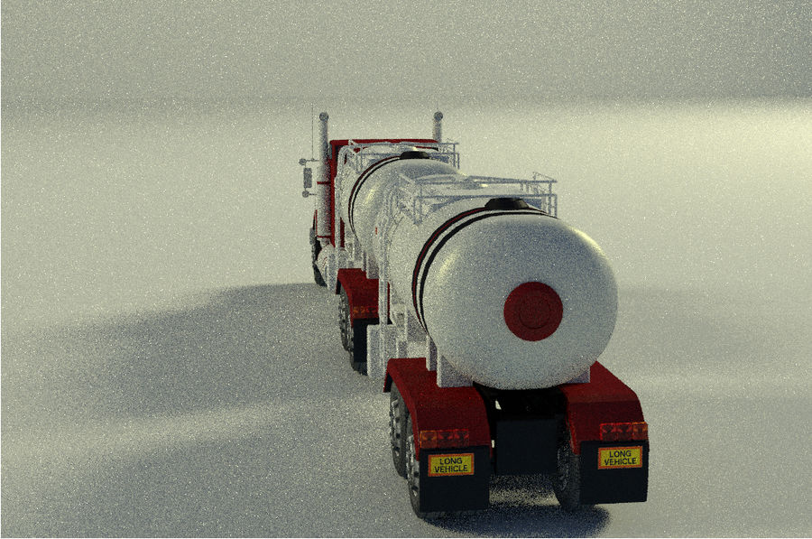 Autocisterna 2 royalty-free 3d model - Preview no. 5