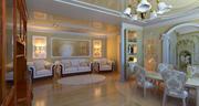 eclectic interior 3d model