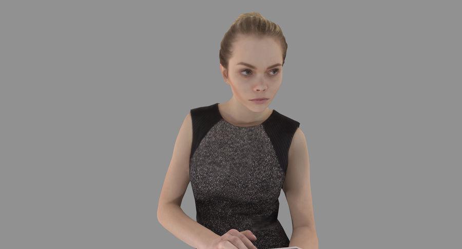 девушка модель 3d работа