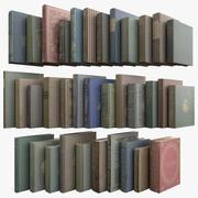 35 Alte Bücher Vol.1 3d model