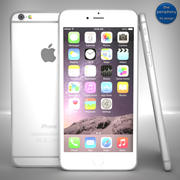 苹果iPhone 6银 3d model
