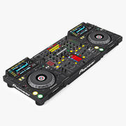 Mikser DJ Pioneer CDJ-2000 DJM-2000 3d model