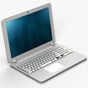 Computador portátil2 3d model