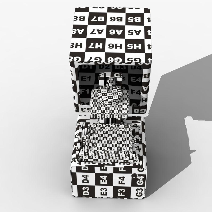 Drukarka 3D Form 1+ royalty-free 3d model - Preview no. 9