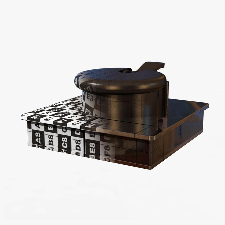 Drukarka 3D Form 1+ royalty-free 3d model - Preview no. 12