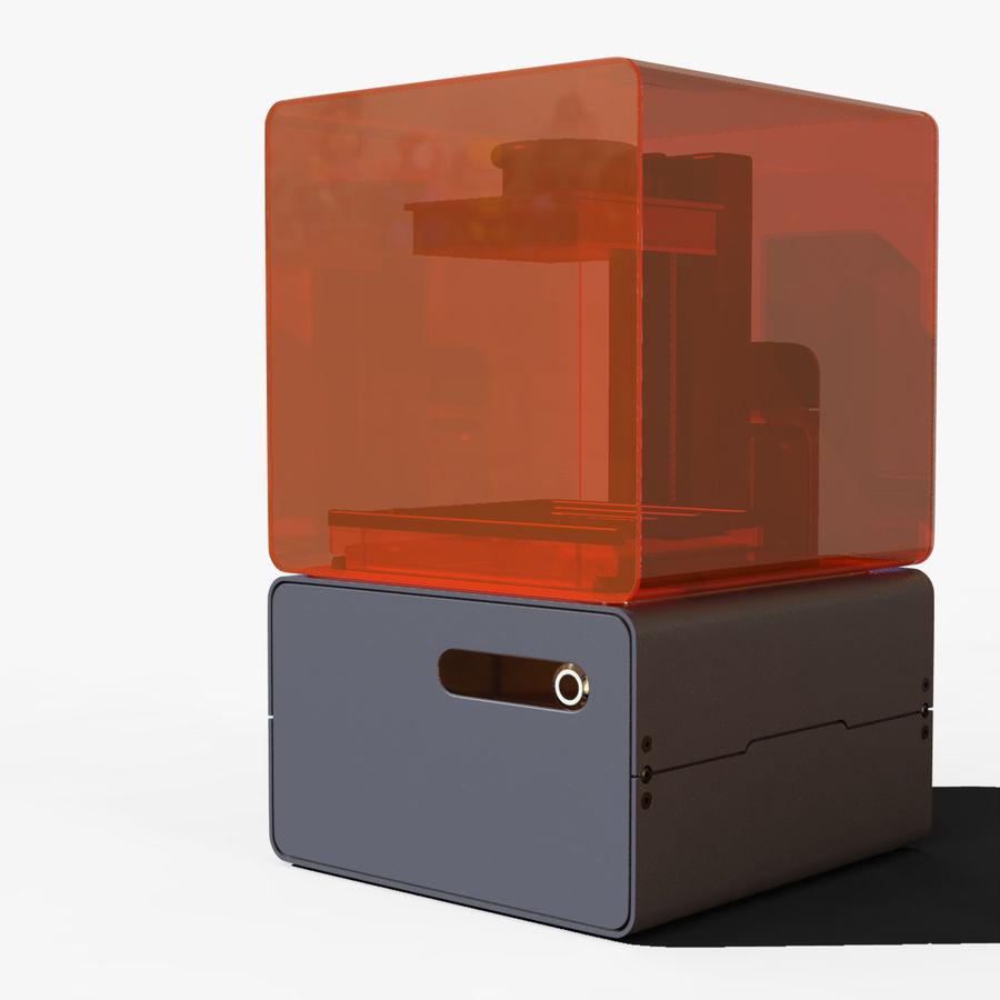 Drukarka 3D Form 1+ royalty-free 3d model - Preview no. 4