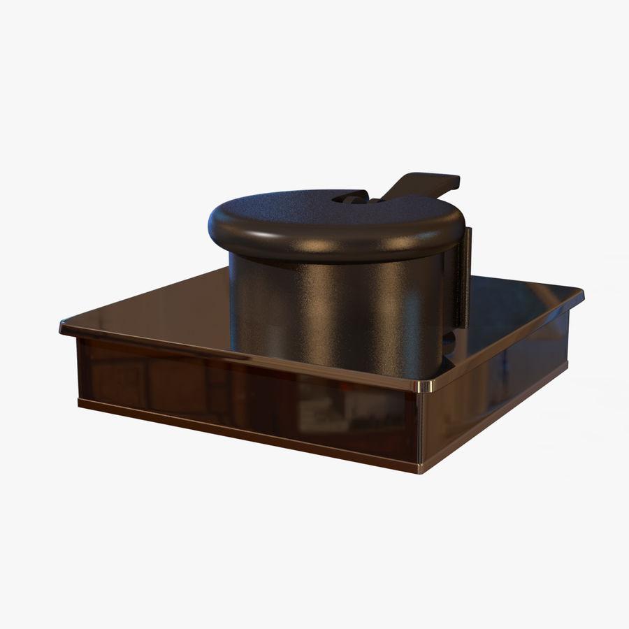 Drukarka 3D Form 1+ royalty-free 3d model - Preview no. 14
