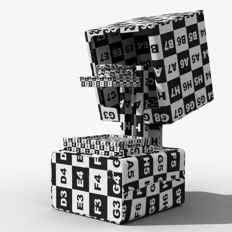 Drukarka 3D Form 1+ royalty-free 3d model - Preview no. 6