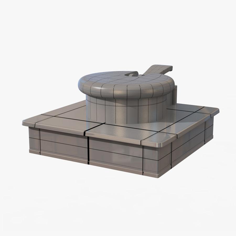 Drukarka 3D Form 1+ royalty-free 3d model - Preview no. 15