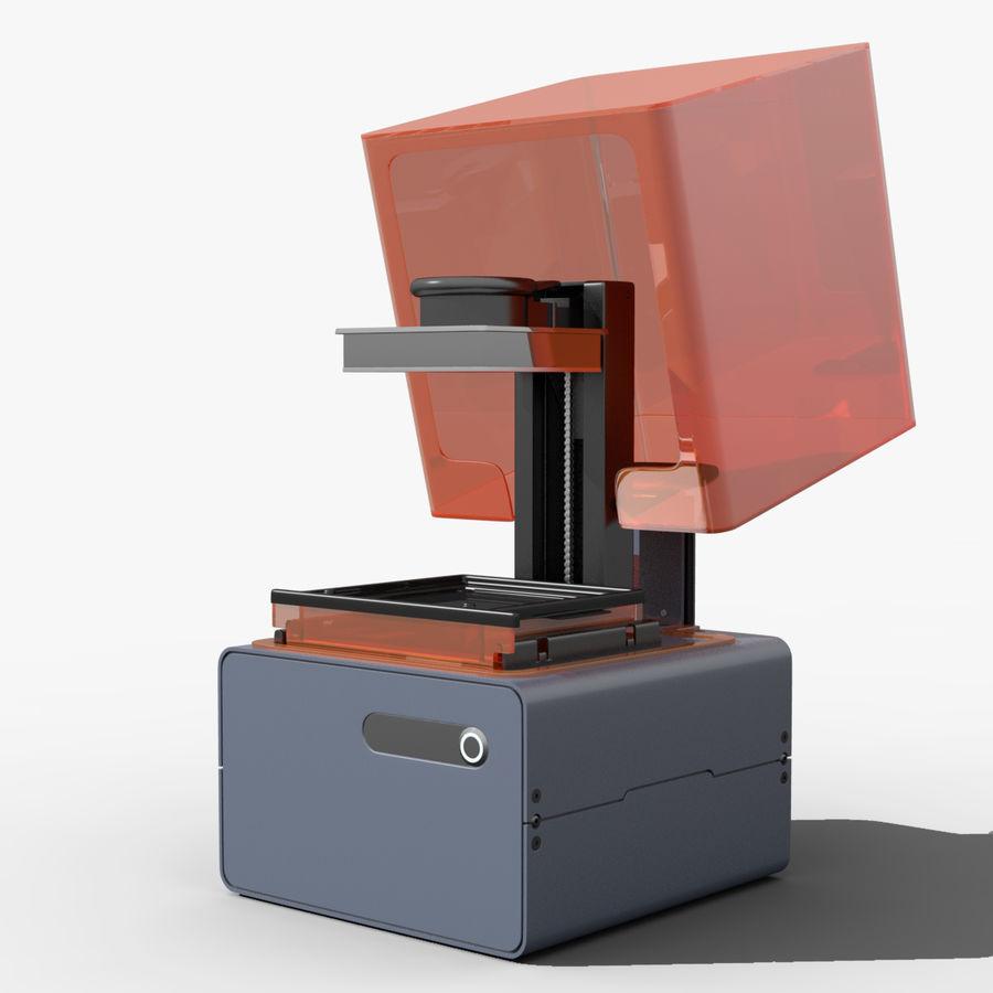 Drukarka 3D Form 1+ royalty-free 3d model - Preview no. 7
