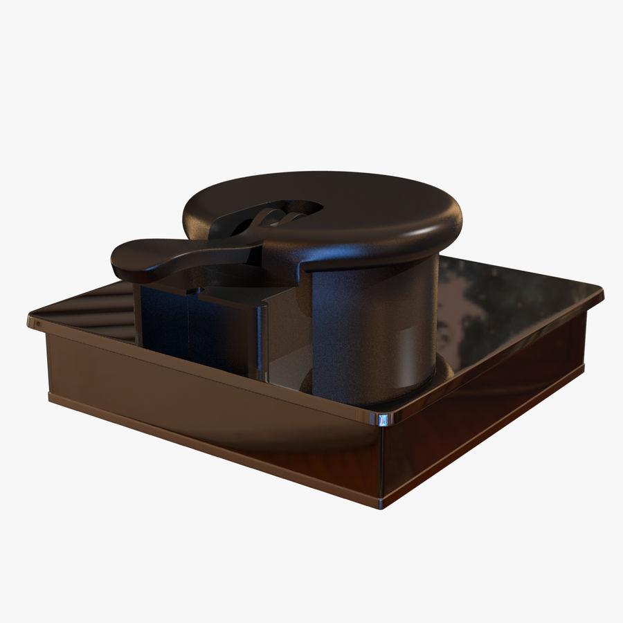 Drukarka 3D Form 1+ royalty-free 3d model - Preview no. 17