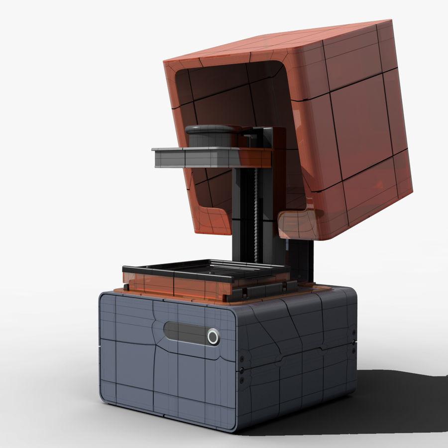 Drukarka 3D Form 1+ royalty-free 3d model - Preview no. 8