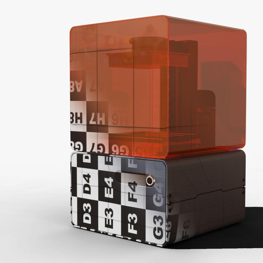 Drukarka 3D Form 1+ royalty-free 3d model - Preview no. 2
