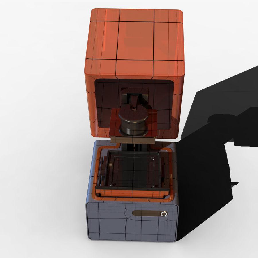 Drukarka 3D Form 1+ royalty-free 3d model - Preview no. 11