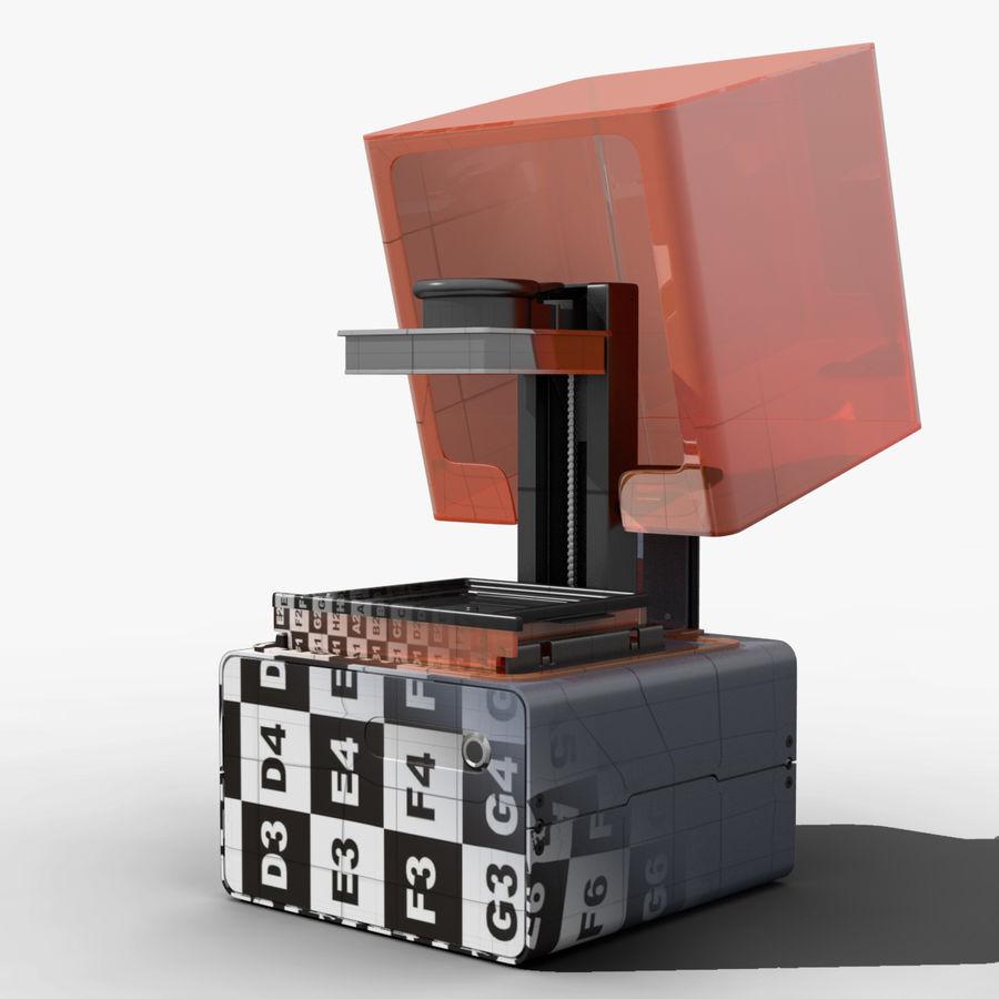 Drukarka 3D Form 1+ royalty-free 3d model - Preview no. 1