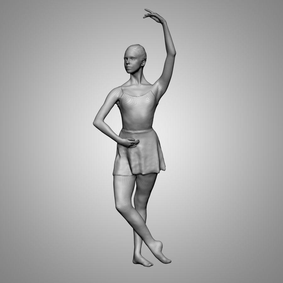 Ballet ruso royalty-free modelo 3d - Preview no. 2