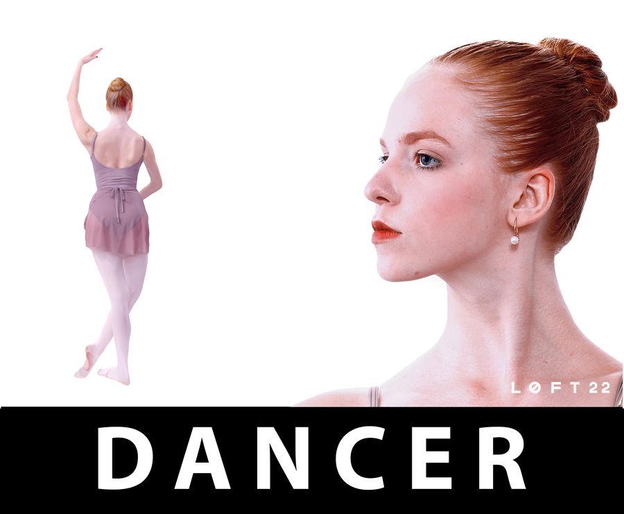 Ballet ruso royalty-free modelo 3d - Preview no. 1